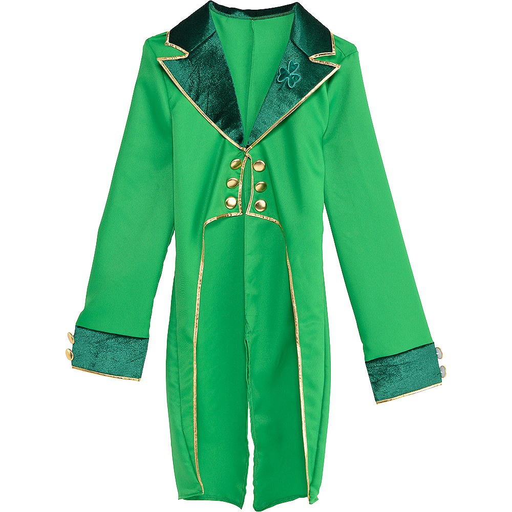 Adult Green Leprechaun Tailcoat Image #2
