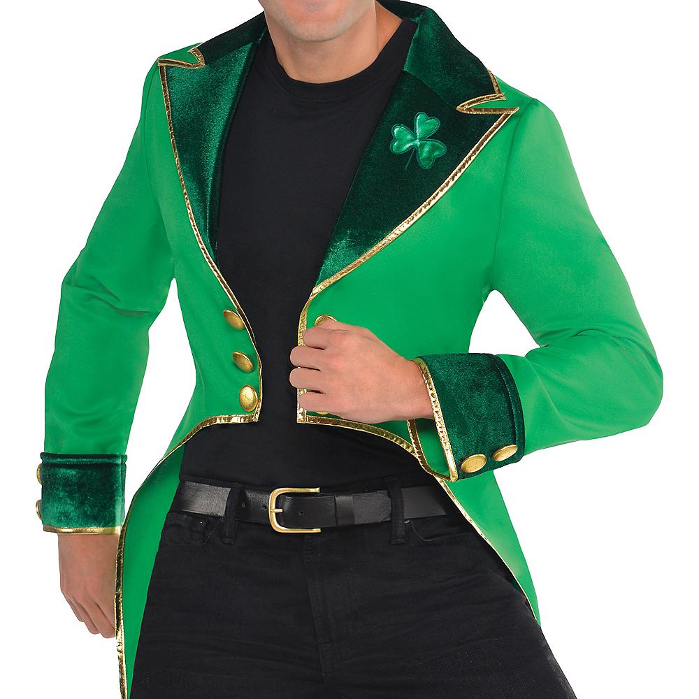 Adult Green Leprechaun Tailcoat Image #3