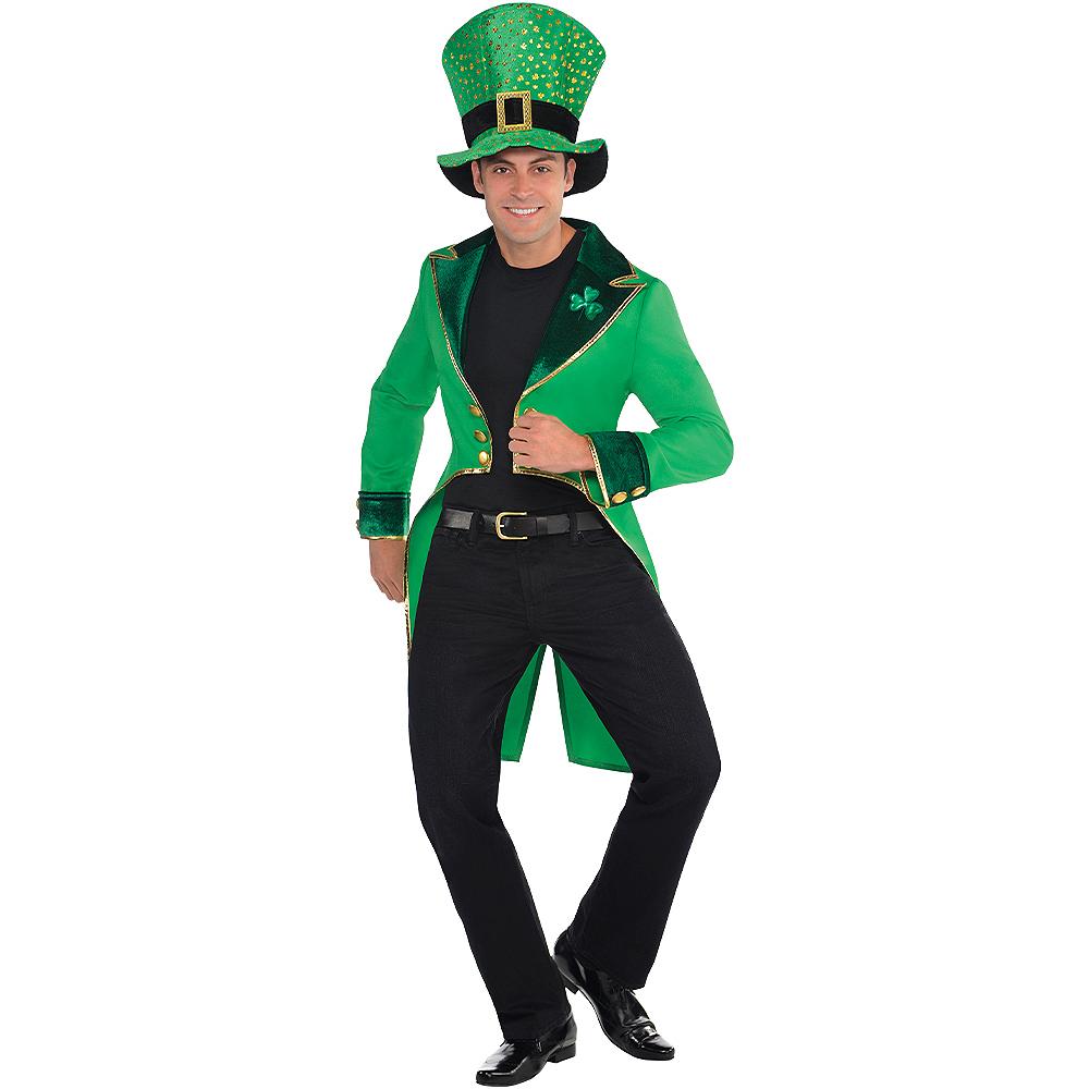 Adult Green Leprechaun Tailcoat Image #4