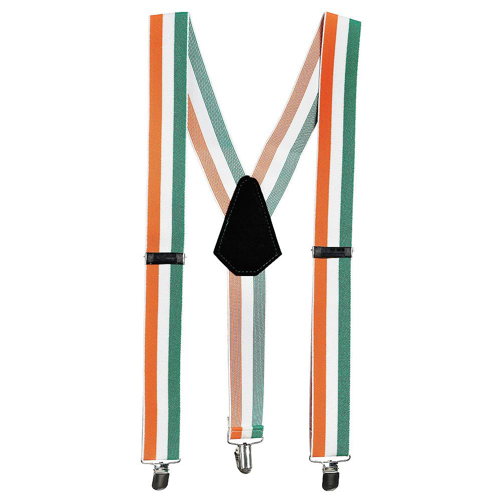 Irish Flag Suspenders Image #1