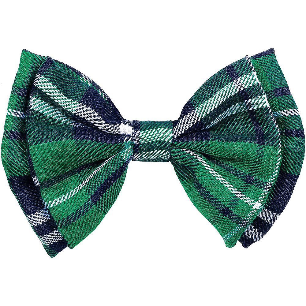Green Plaid Bow Tie Image #1