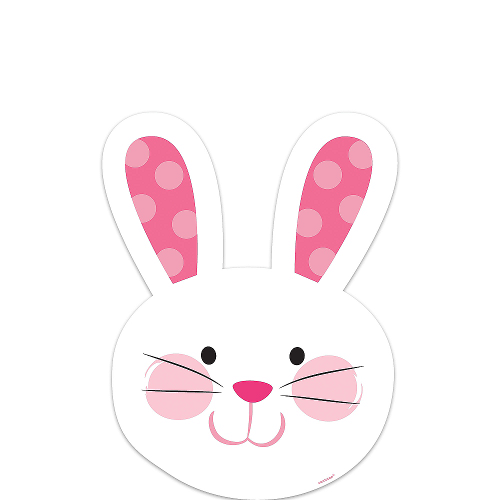Easter Bunny Cutout Image #1