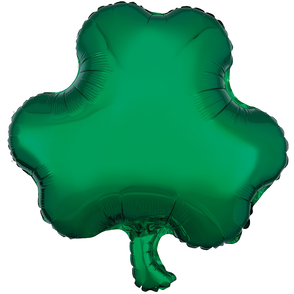 Shamrock Balloon, 17in Image #1