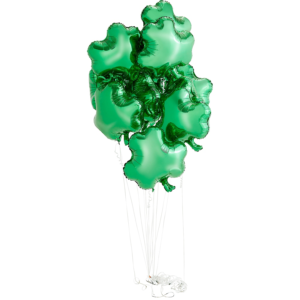 Shamrock Balloon, 17in Image #2