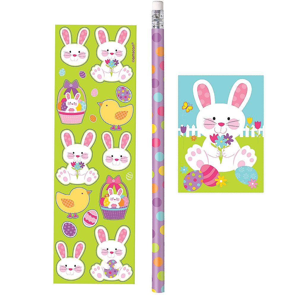 Easter Bunny Favor Pack 3pc Image #1