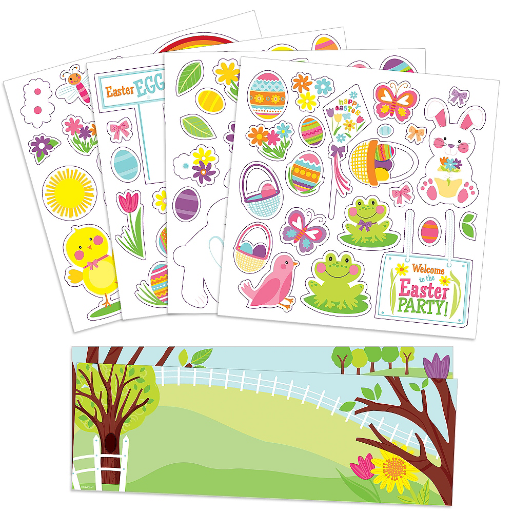 Easter Stickers Activity Kit Image #1