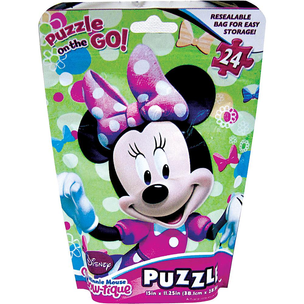Minnie Mouse Puzzle Bag 24pc Image #1