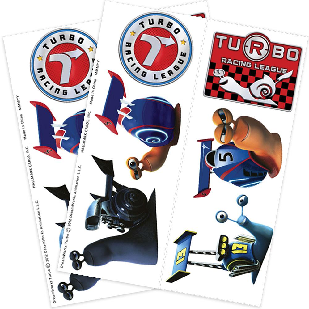 Turbo Tattoos 2 Sheets Image #1