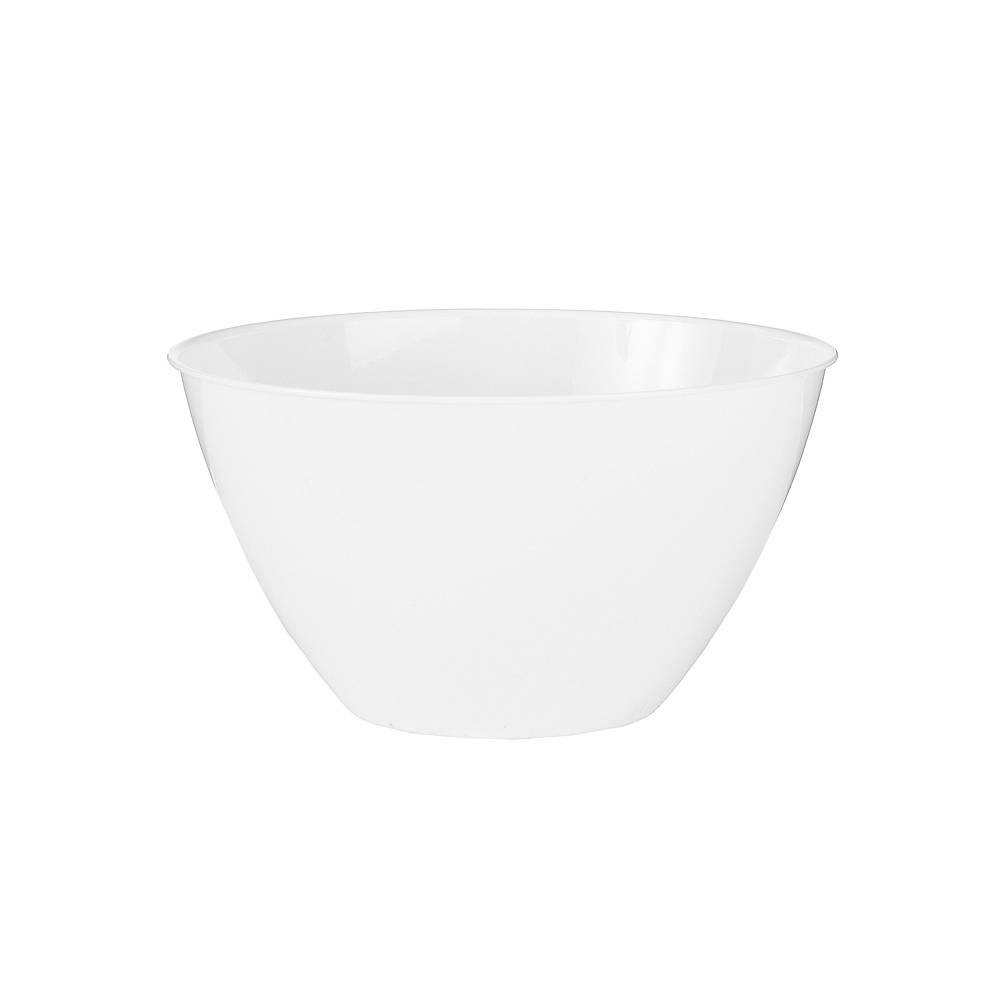 Nav Item for Small White Plastic Bowl Image #1