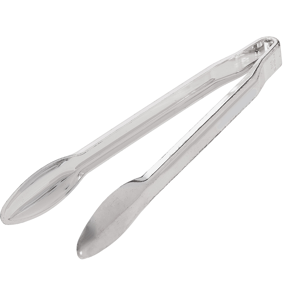Acrylic Tongs: Silver Plastic Tongs 12in