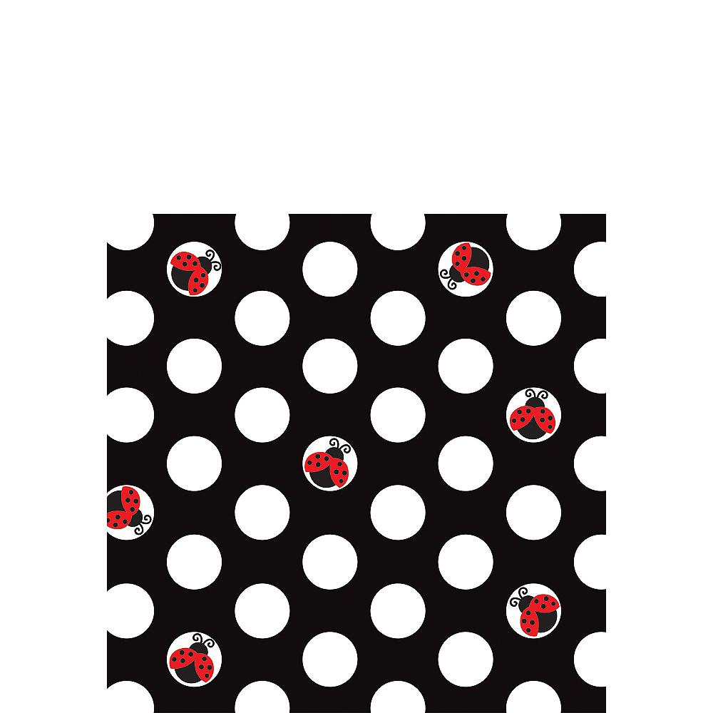 Fancy Ladybug Beverage Napkins 16ct Image #1