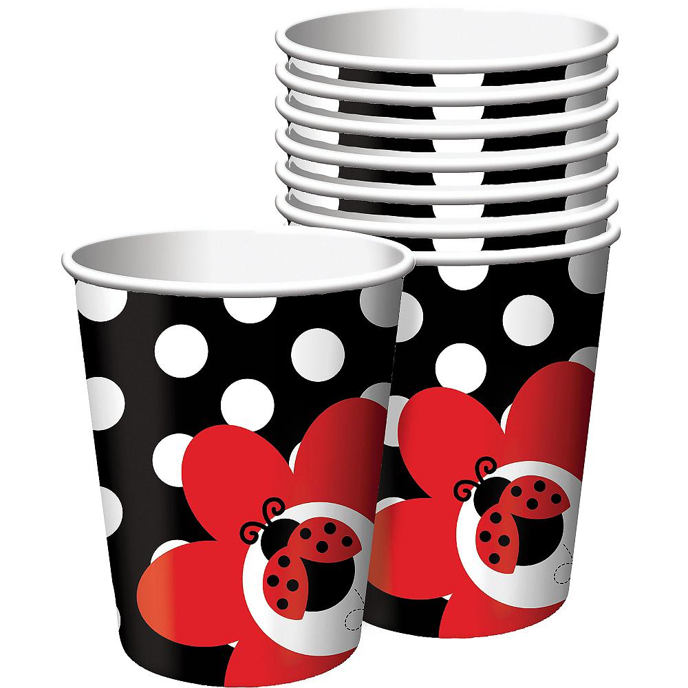 Fancy Ladybug Cups 8ct Image #1