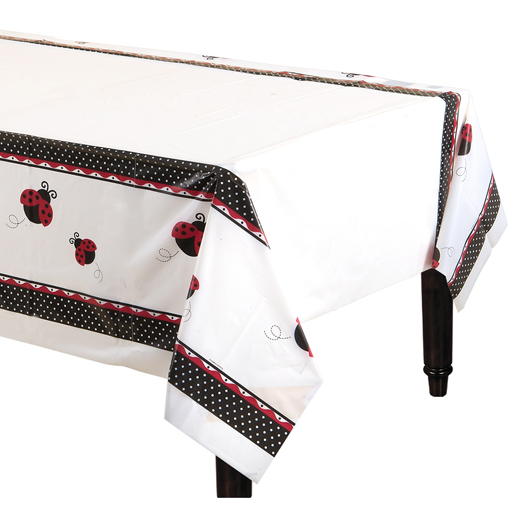 Fancy Ladybug Table Cover Image #1