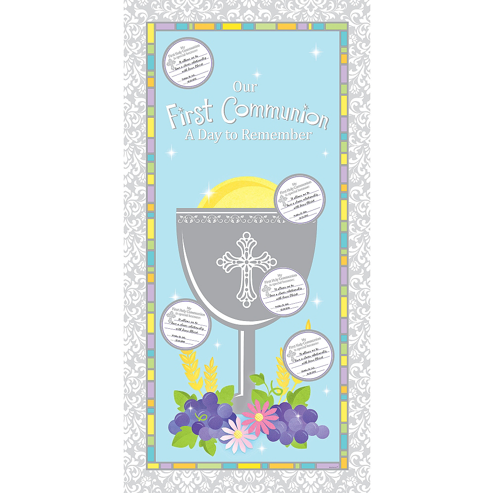 First Communion Activity Kit 31pc Image #1