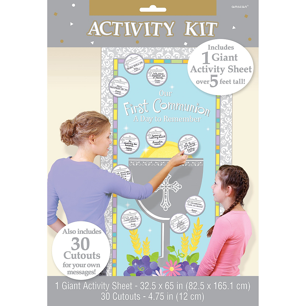 First Communion Activity Kit 31pc Image #3