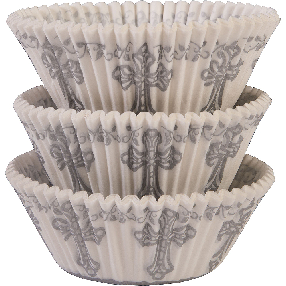 Communion Baking Cups 75ct Image #1