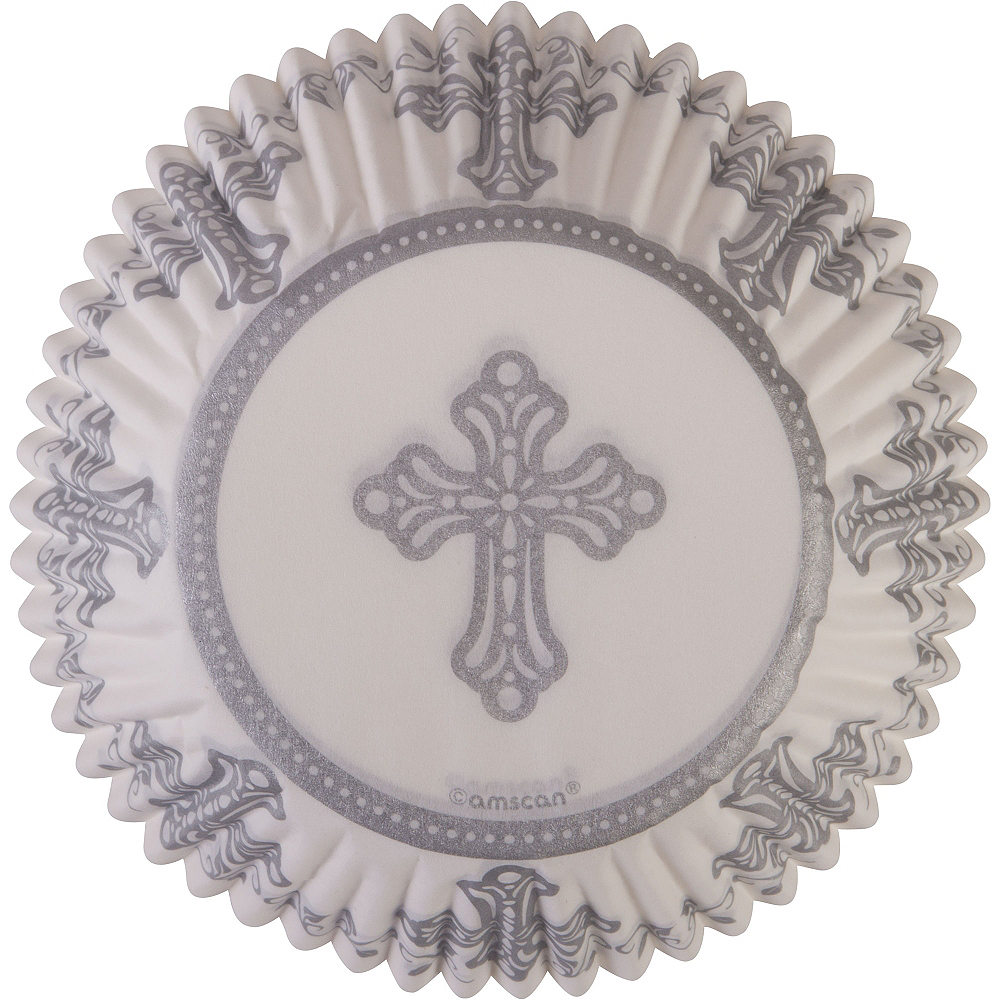 Communion Baking Cups 75ct Image #2