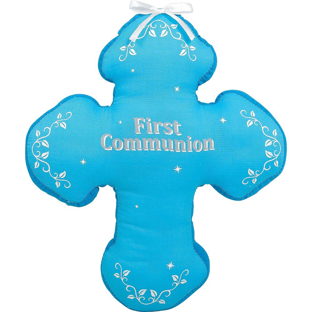 Boy's First Communion Autograph Pillow Image #1