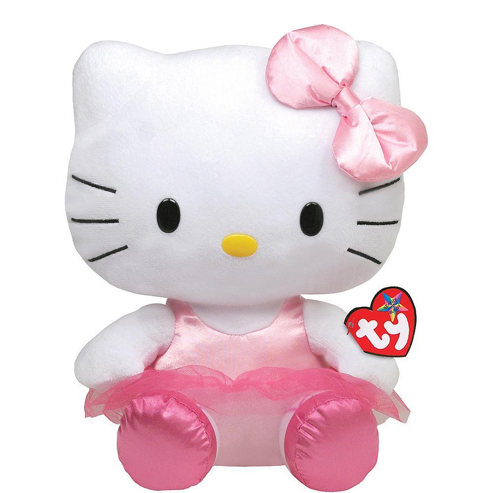 Hello Kitty Ballerina Beanie Buddies Plush Image #1