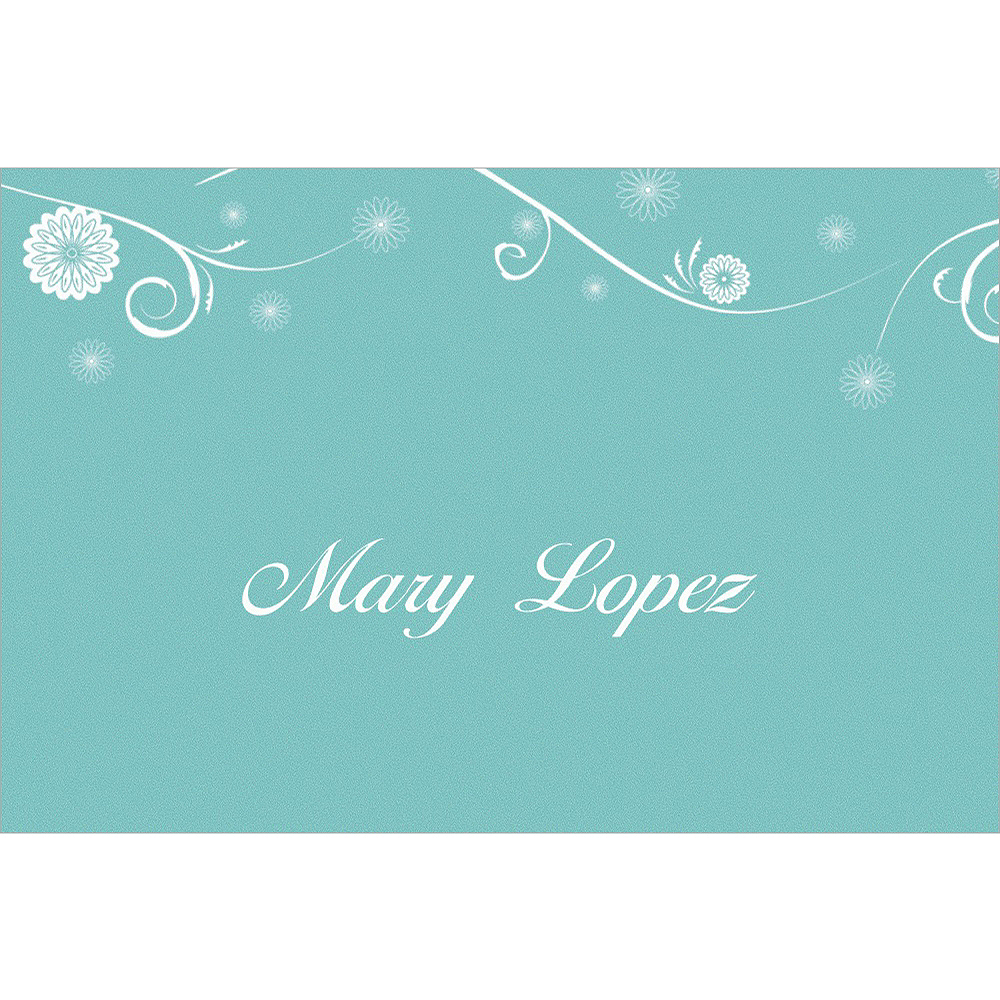 Custom Chapel Bicycle Bridal Shower Thank You Notes Image #1