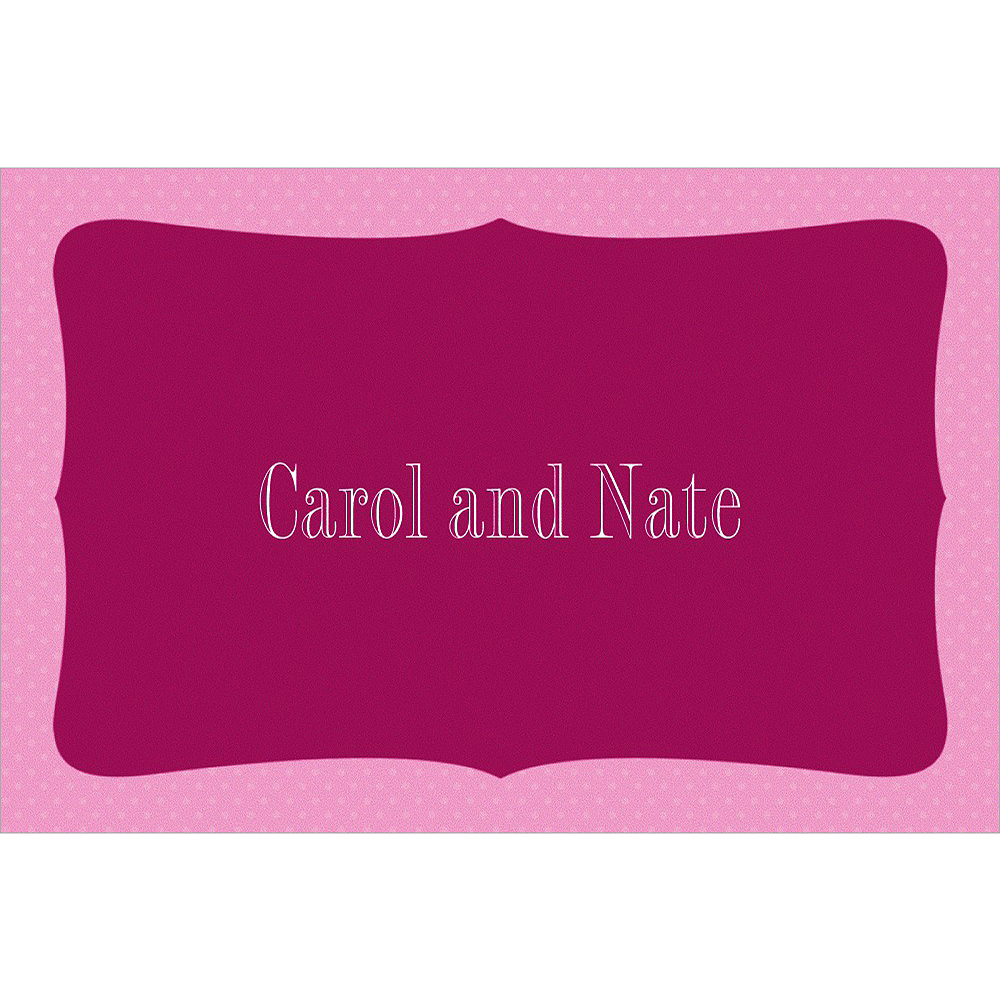 Custom White Bride & Groom Wedding Thank You Notes Image #1