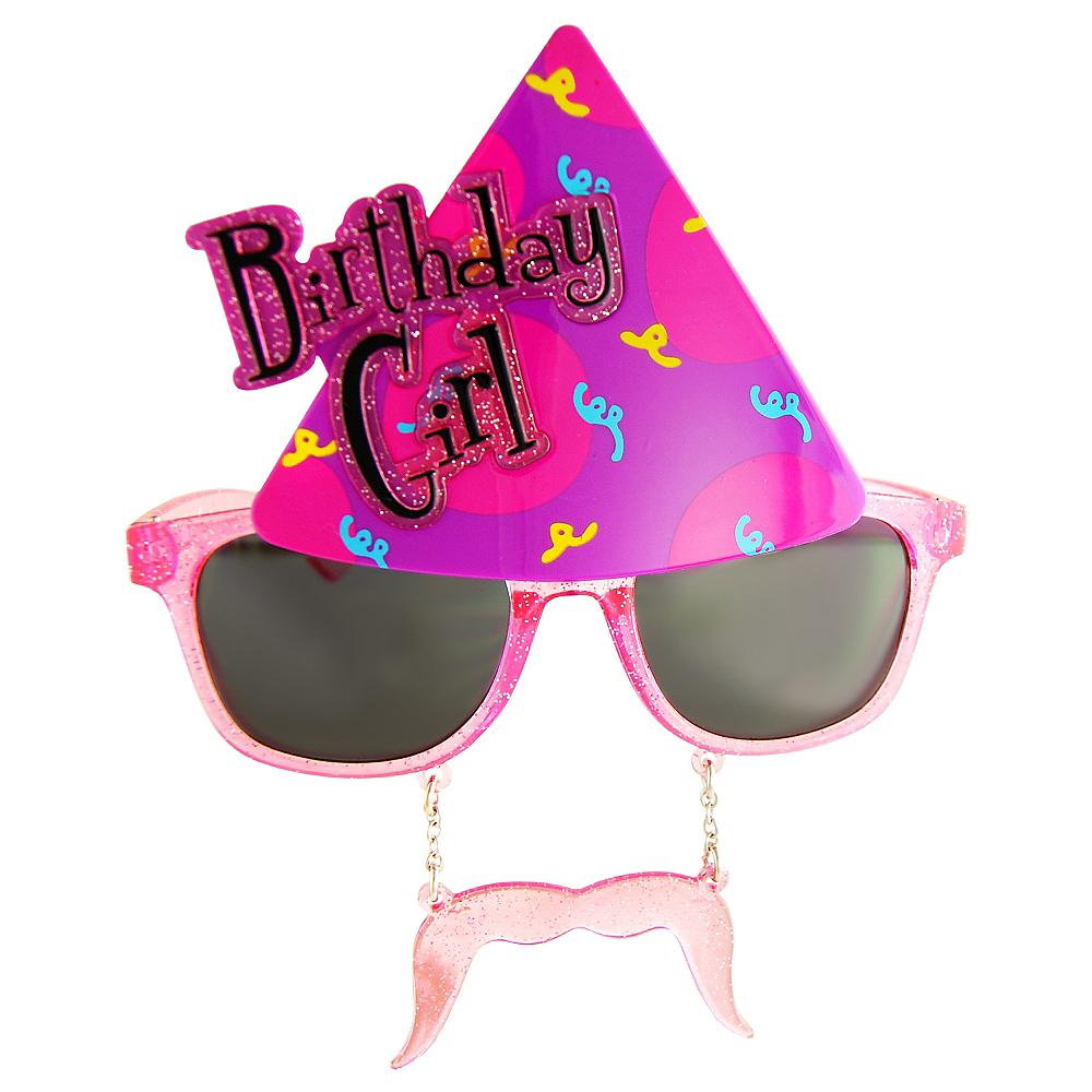 Birthday Girl Sun-Staches Image #1