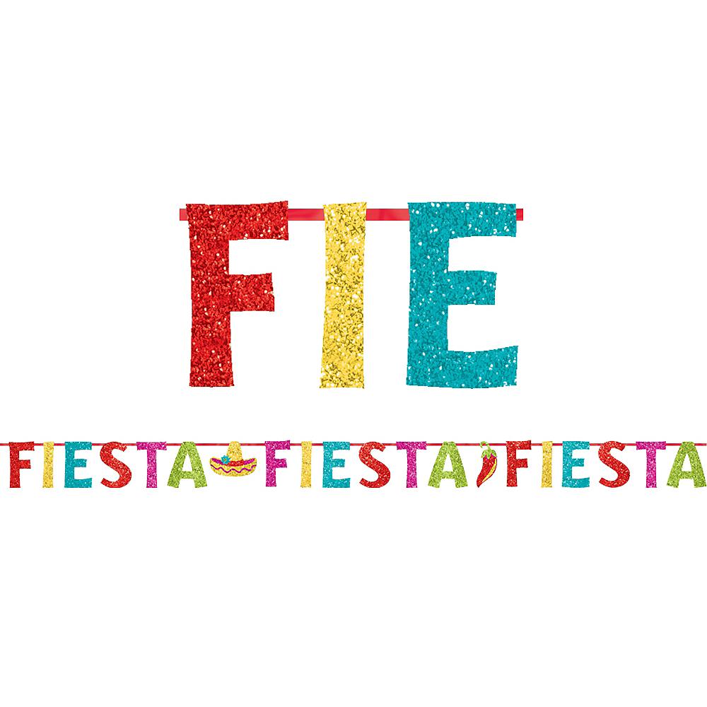 Glitter Fiesta Letter Banner Image #1