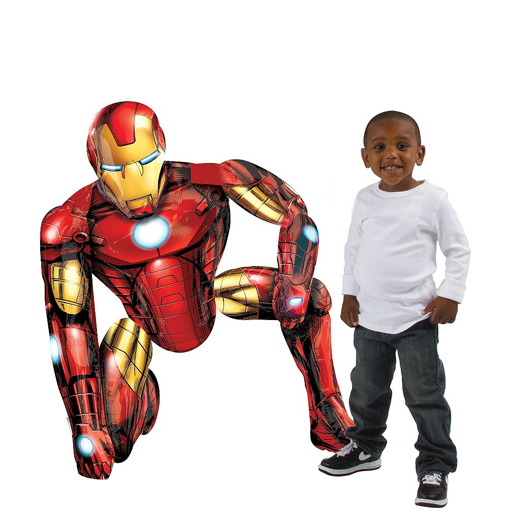 Giant Gliding Iron Man Balloon, 46in Image #1