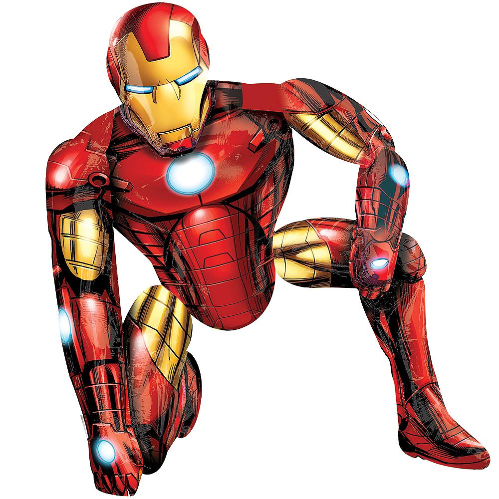 Giant Gliding Iron Man Balloon, 46in Image #2