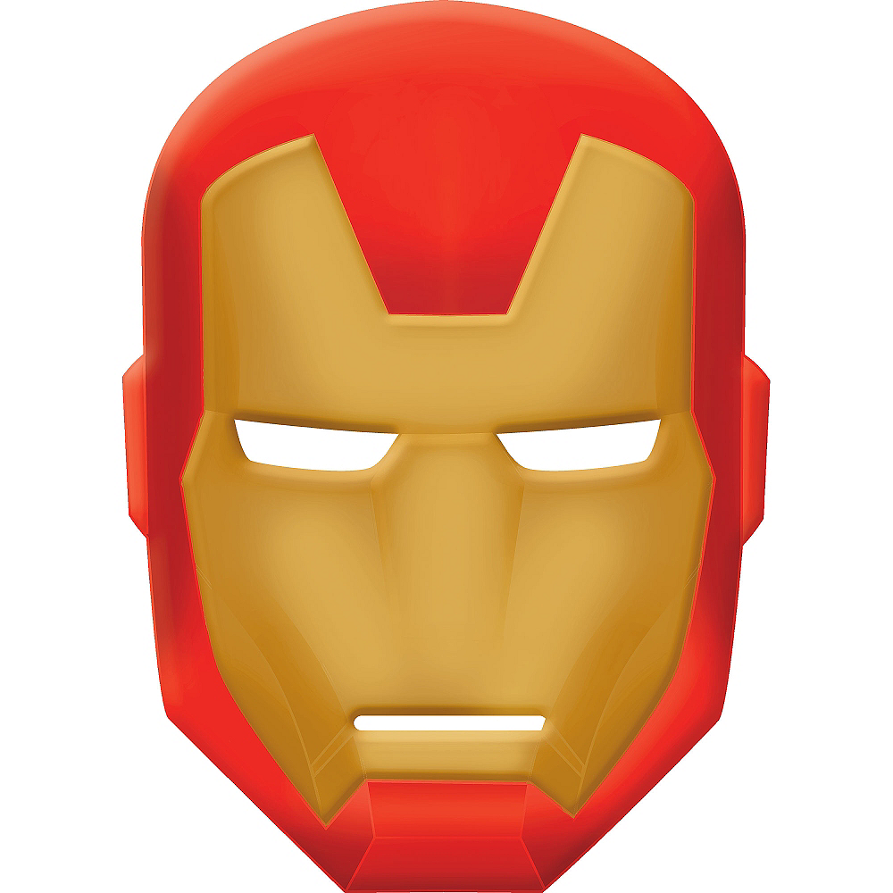 Iron Man Avengers Mask Image #1
