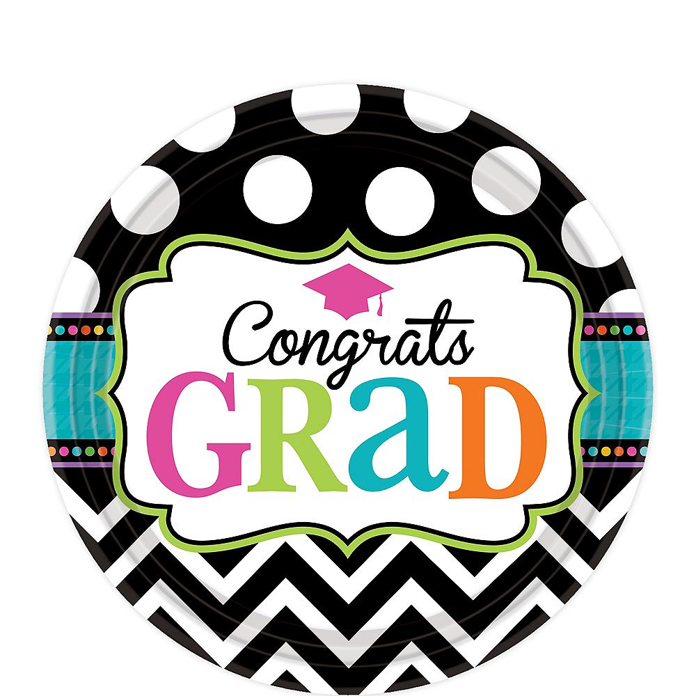 Dream Big Graduation Dessert Plates 60ct Image #1