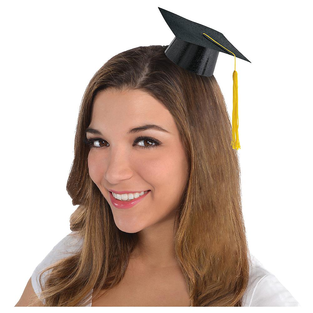 Black Mini Graduation Cap 4 3/4in | Party City