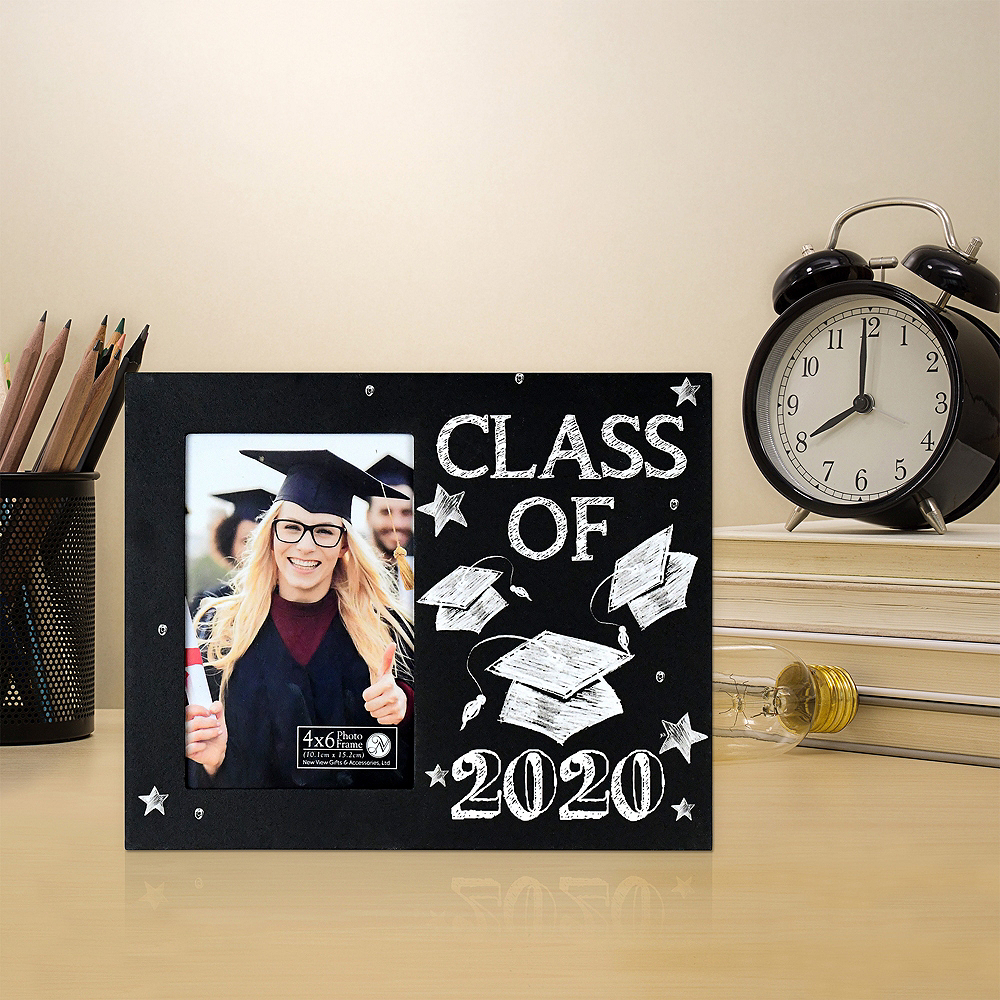 Chalkboard Class of 2020 Graduation Photo Frame Image #2