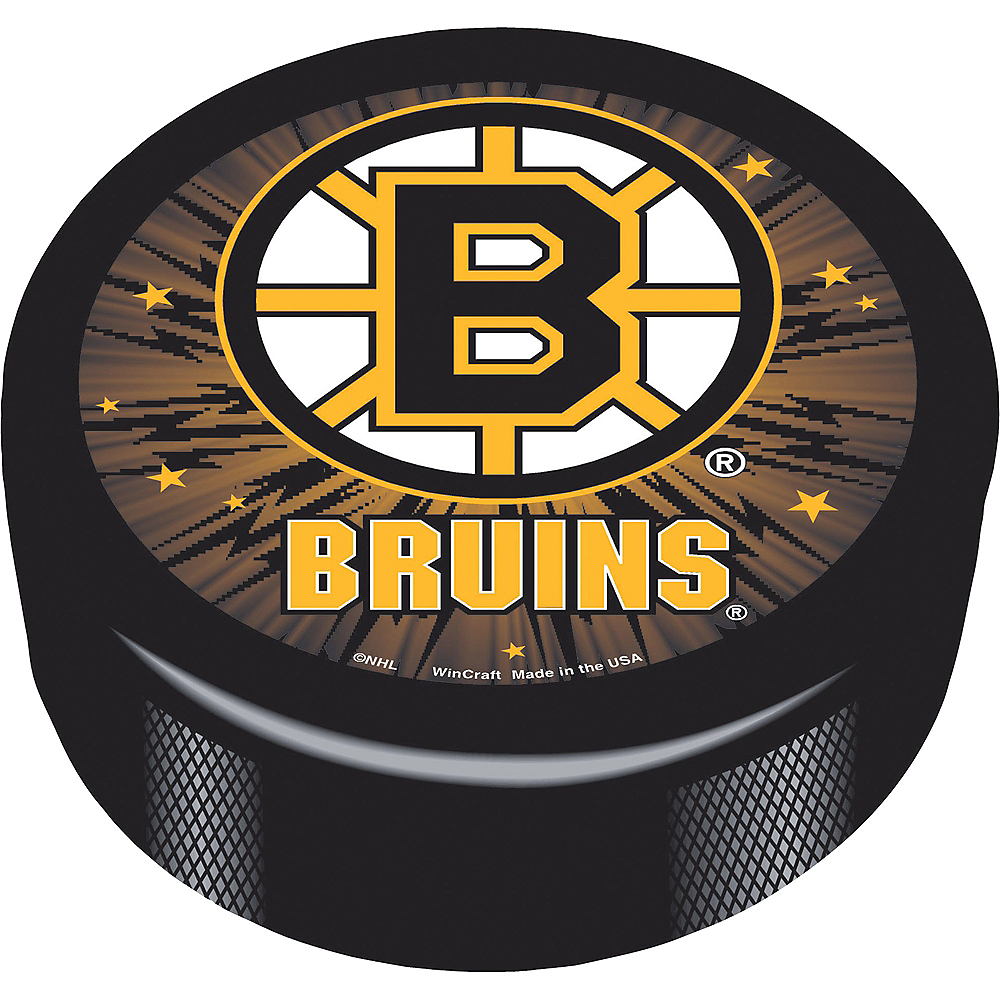 Boston Bruins Hockey Puck Image #1