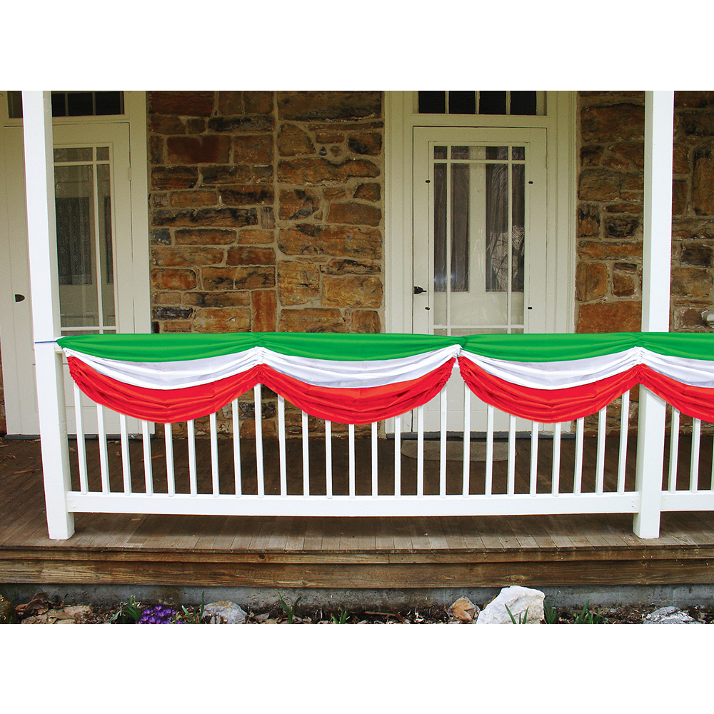 Red, White & Green Bunting Image #2