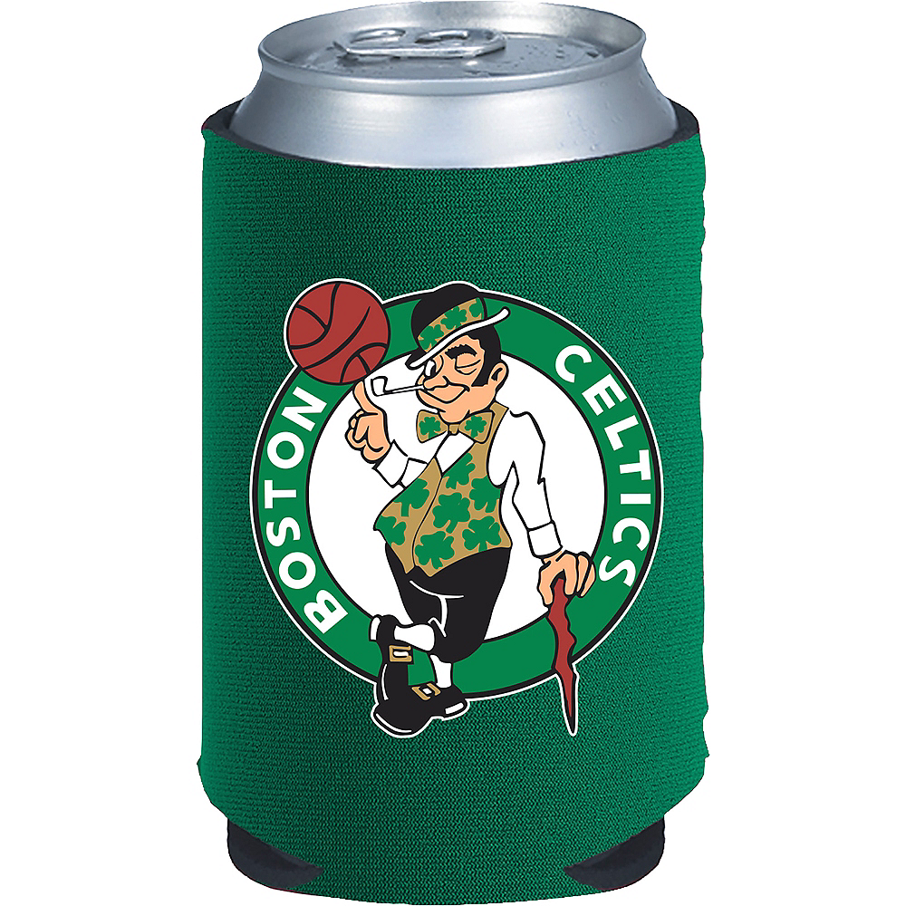 Boston Celtics Can Coozie Image #1