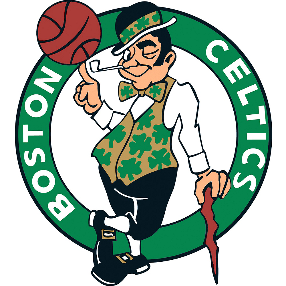 Boston Celtics Cling Decal Image #1