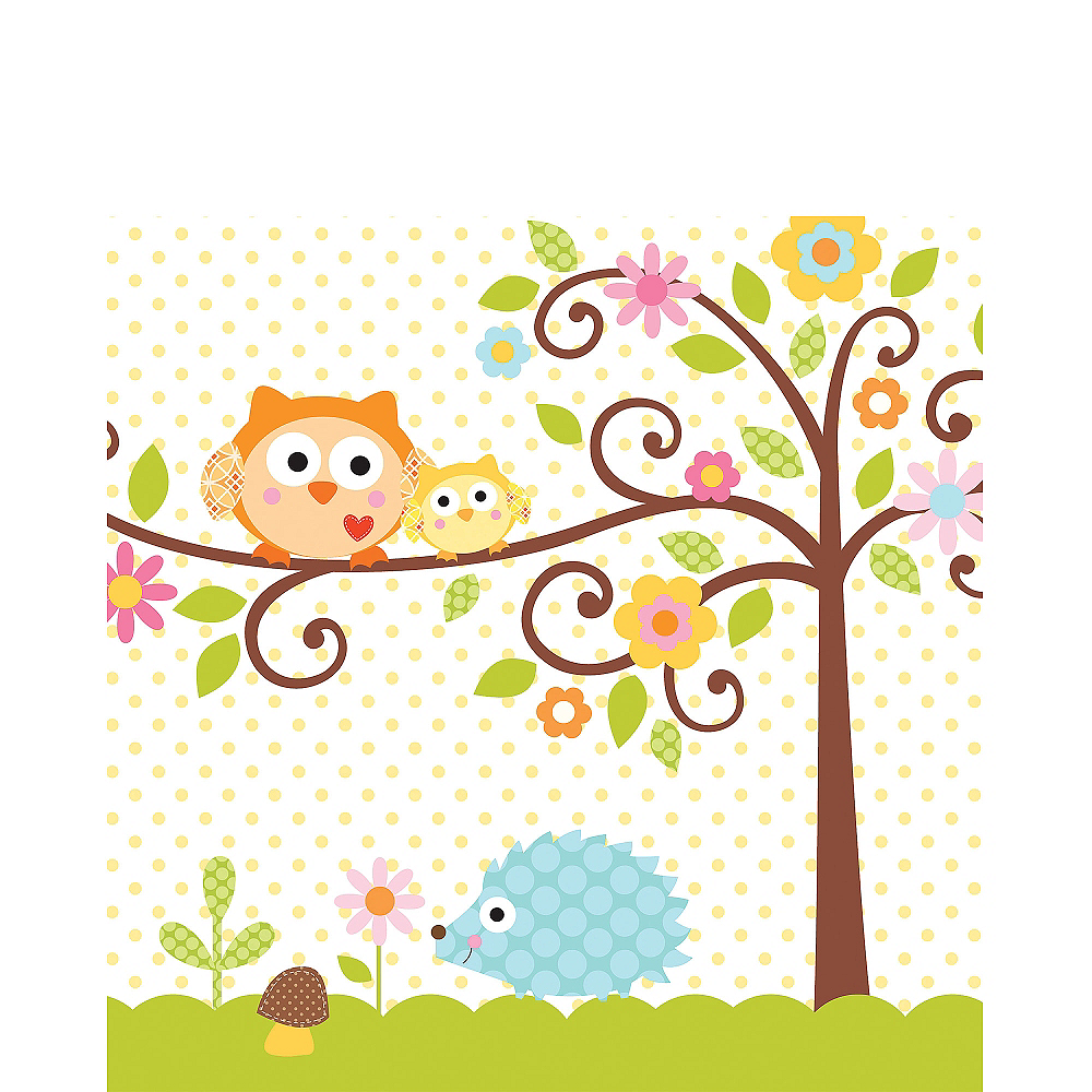 Owl Baby Shower Lunch Napkins 16ct Image #1