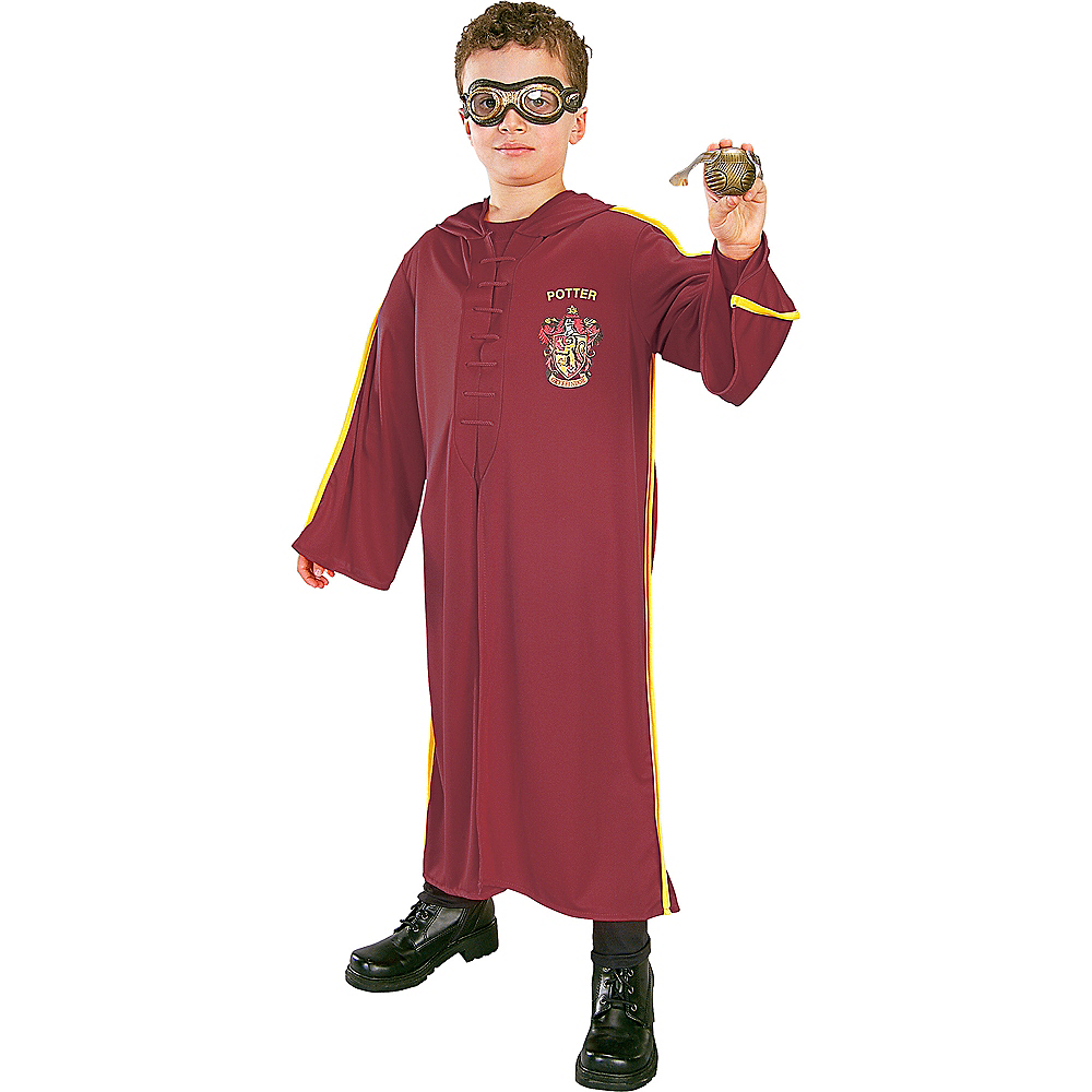 Nav Item for Child Harry Potter Quidditch Costume Accessory Kit Image #1