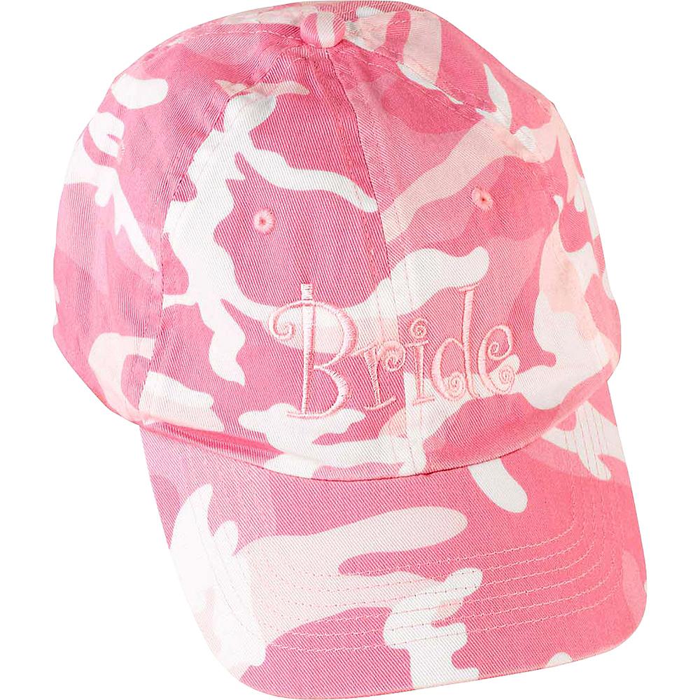 Bride Pink Camouflage Baseball Hat Image #1