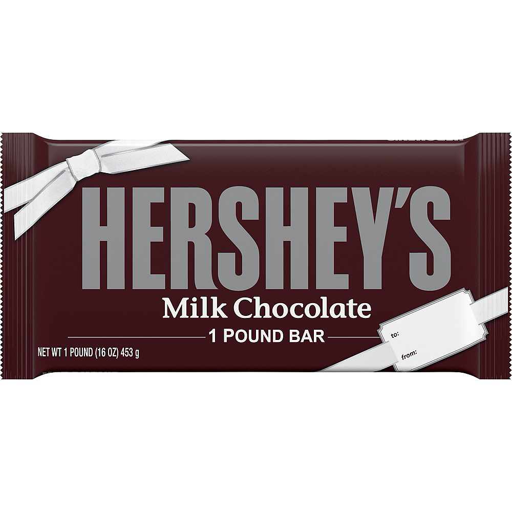 Gift Size Milk Chocolate Hershey's Bar Image #1