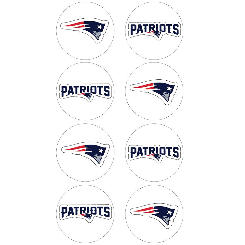 New England Patriots Stickers 8ct Image #1
