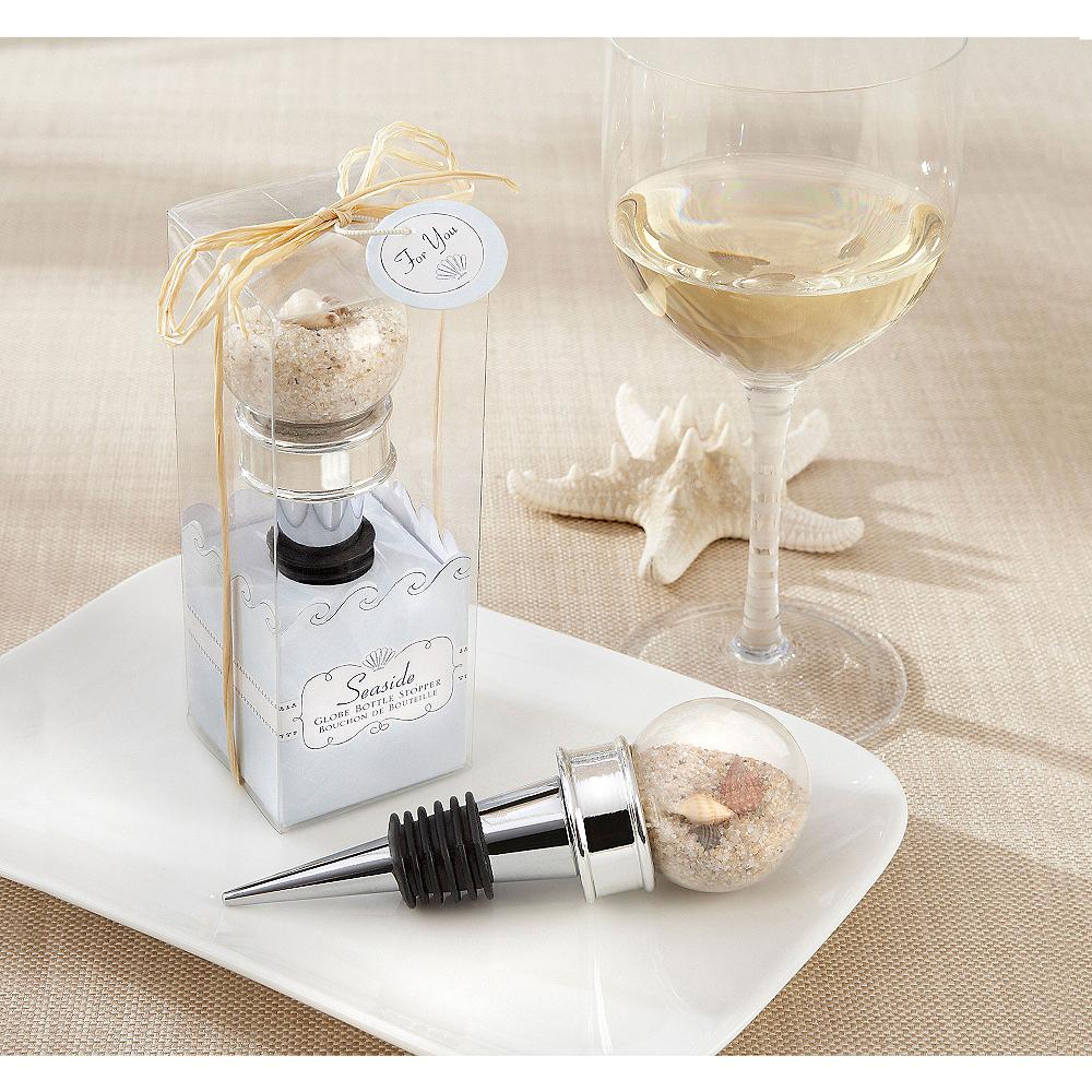 Seaside Globe Bottle Stopper Image #1