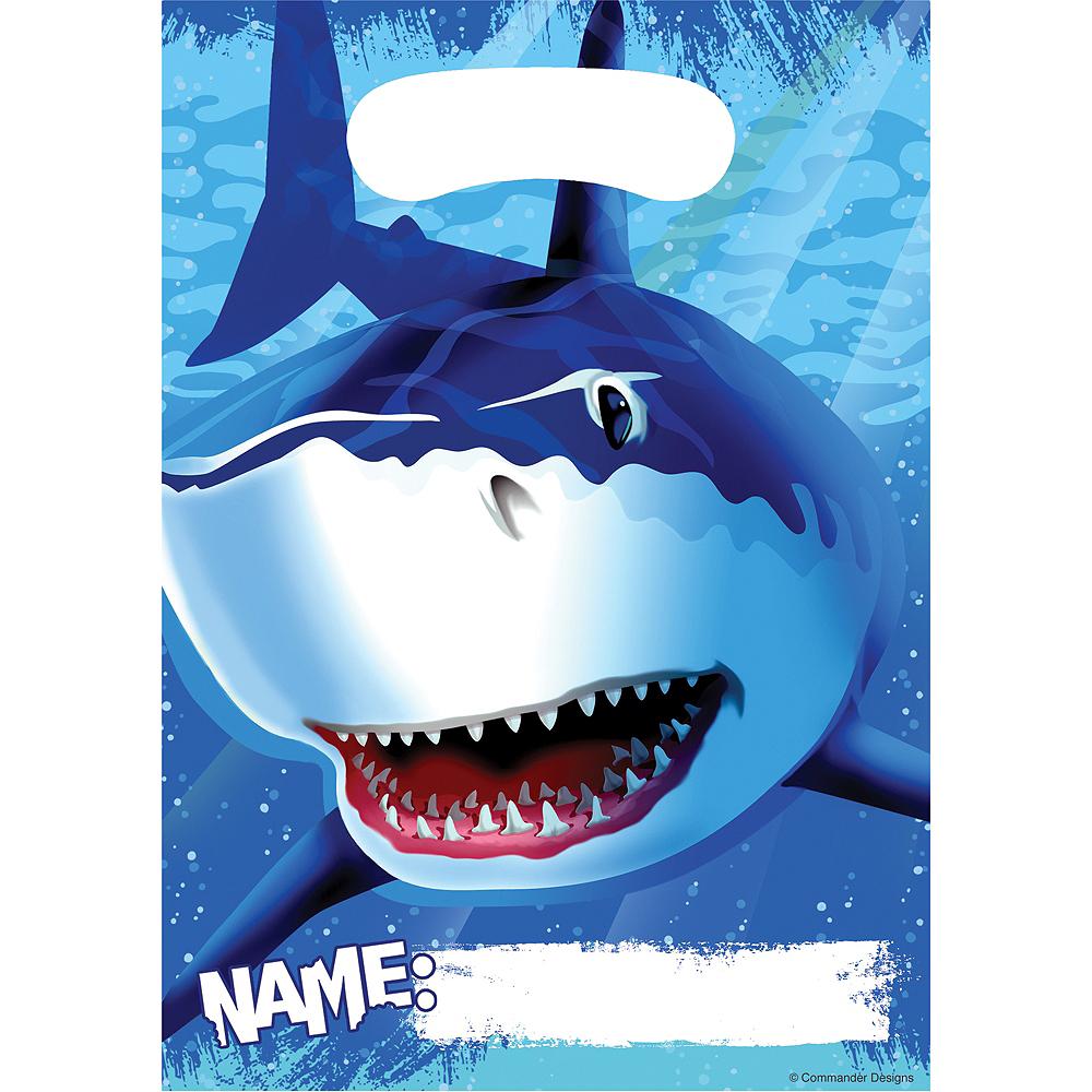 Shark Favor Bags 8ct Image #1