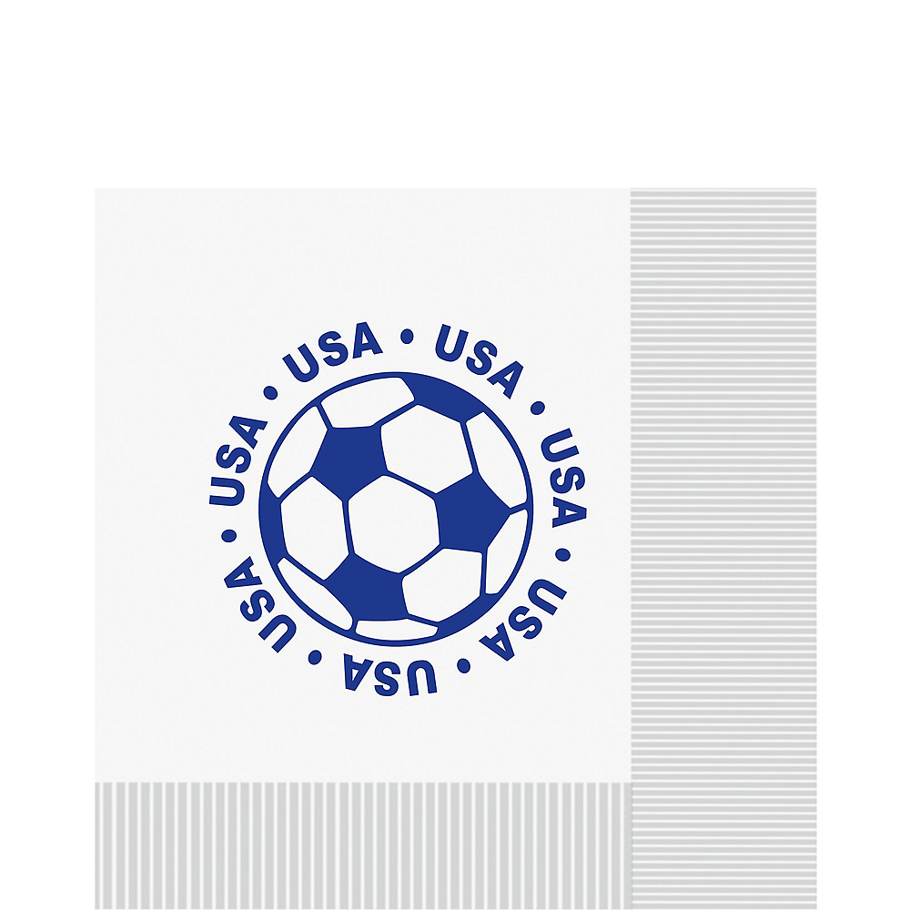 USA Soccer Lunch Napkins 16ct Image #1