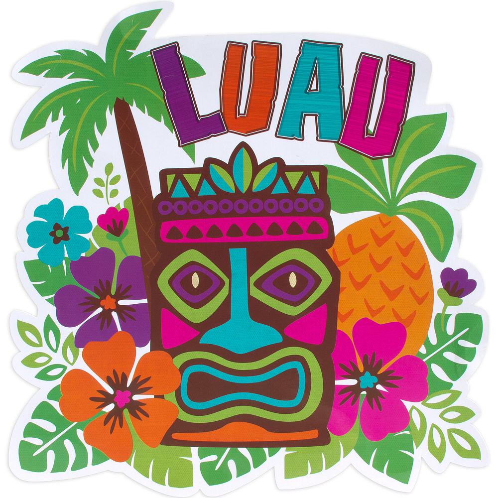 Tiki Luau Cutout Image #1