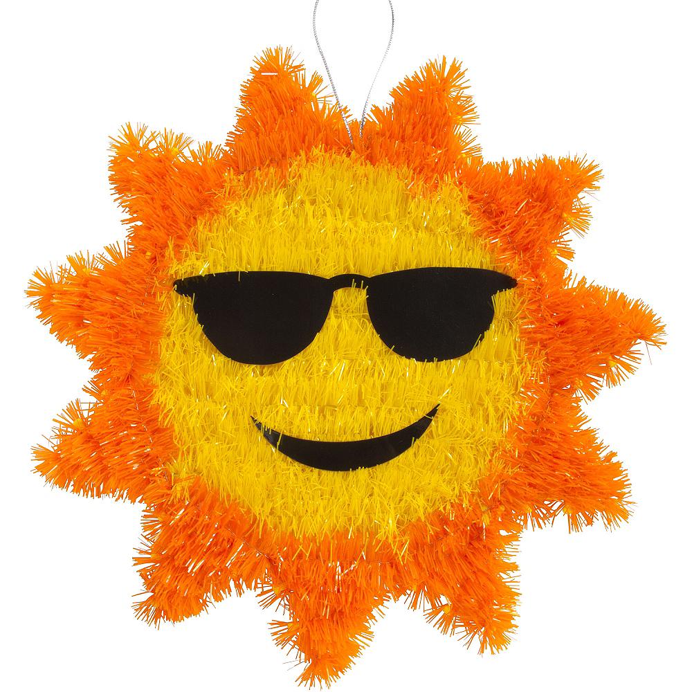 Hanging Tinsel Sun Image #1