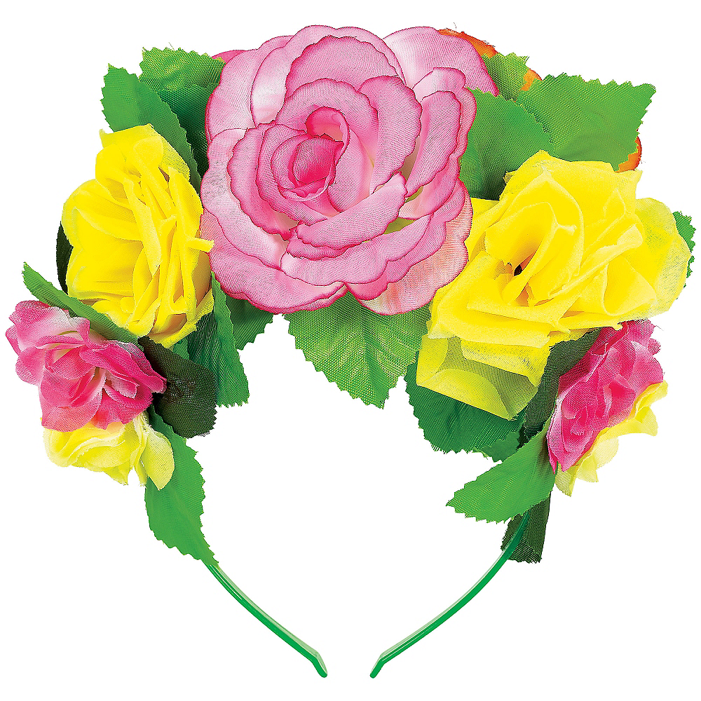 Nav Item for Flower Crown Headband Deluxe Image #1