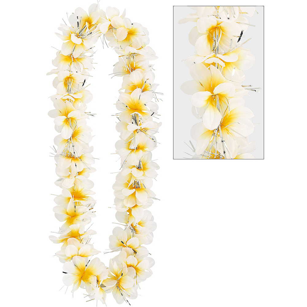 Nav Item for Yellow Aloha Lei Image #1