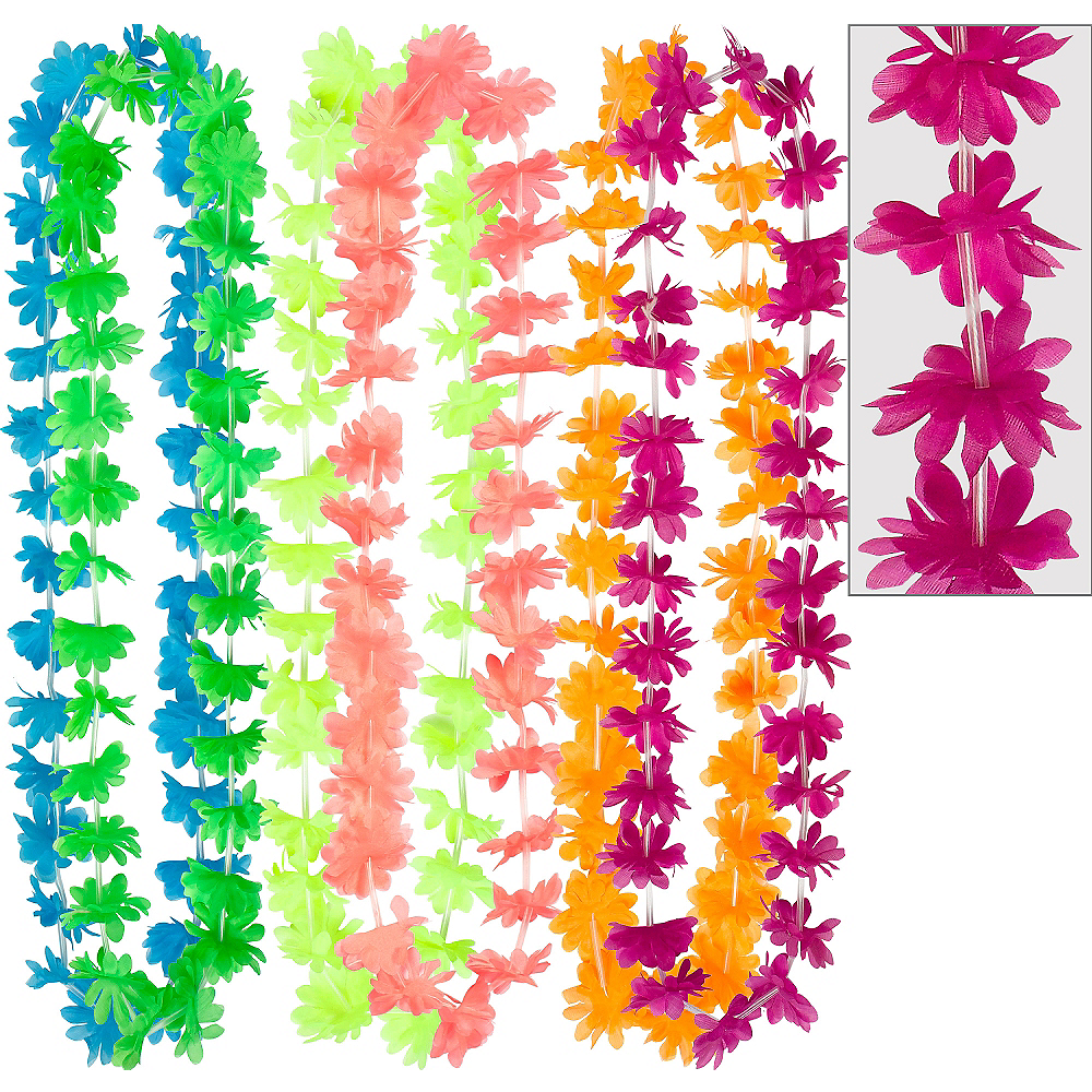 Nav Item for Bright Floral Leis 6ct Image #1